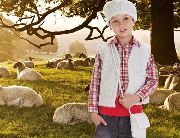Cómo hacer disfraces de pastor para Navidad