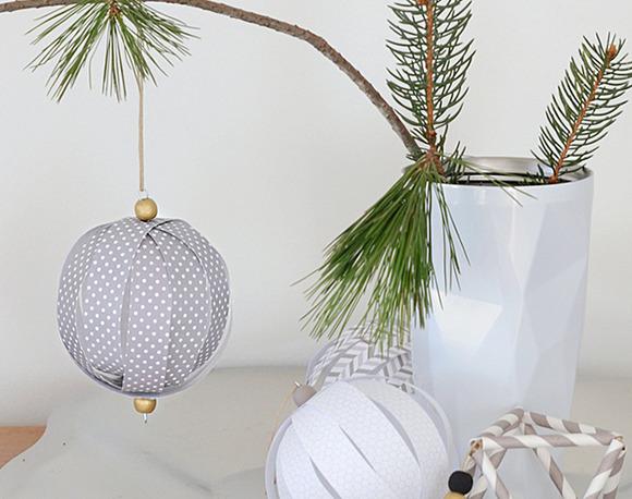 Decoración navideña. Adornos para el árbol de navidad hechos en casa