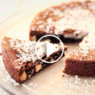 Receta rápida de brownie de chocolate blanco