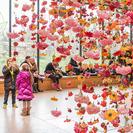Jardines colgantes que florecen en Berlin esta primavera