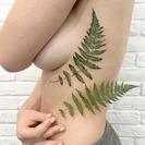Tatuajes de hojas o flores