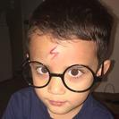 Esta mamá convierte la cicatriz de su hijo en el rayo de Harry Potter