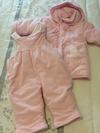 Conjunto de abrigo y peto bebé. 3 a 6 meses. Perfecto estado