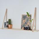 DIY: Estantería original con cuero