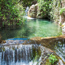 Piscinas naturales de Las Canales, un oasis en plena Castilla-La Mancha