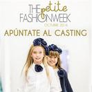 Apunta a tus peques al casting de The Petite Fashion Week 2016
