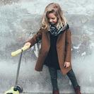 Shopping de abrigos para niñas