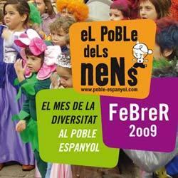 Fin de Semana en el Poble Espanyol. Planes con niños en Barcelona