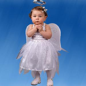 Disfraces caseros de Angel. Navidad 2010