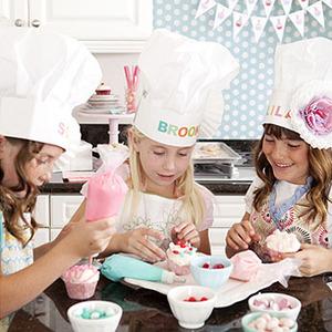 Fiesta de cumpleaños para niños. ¡Chef por un día!