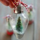 Originales bolas para la decoración del árbol de Navidad. Manualidad navideña