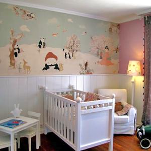 Murales y papel pintado para decorar habitaciones - Pintar dormitorios infantiles ...