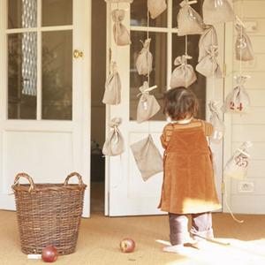 Manualidades para navidad. Cómo hacer tu calendario de adviento en casa