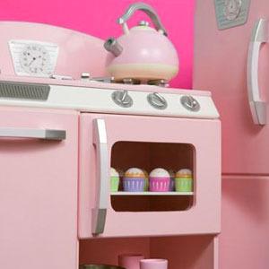 Cocinitas de juguete y accesorios para pequeños cocineros