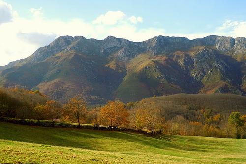 Ruta Castañeru Montés, Asturias. Cuyargayos