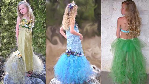 Disfraz de Sirena para niñas - Disfraces caseros y tiendas de