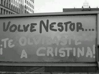 Nestor Kirchner 3 fotos antes y despues