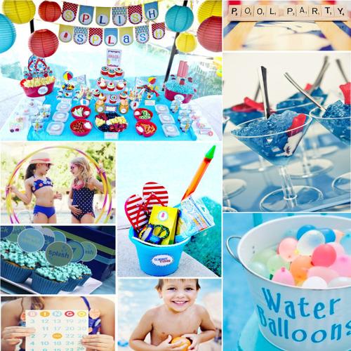 Invitaciones infantiles y originales ideas para celebrar - Juegos de decorar la casa de barbie con piscina ...