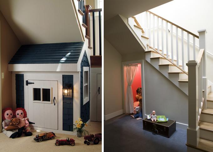 Baño Visita Bajo Escalera:Tatiana Doria: Bajo la escalera