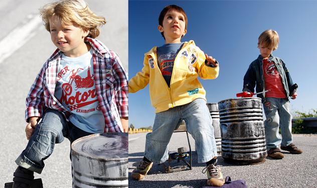 Baños Para Ninos Rebeldes:Para los niños, el pantalón vaquero es la estrella de la nueva