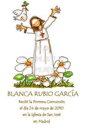 Recordatorios de Bautizo, Primera Comunión y Dibujos Personalizados