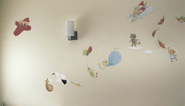 Ilustrador murales infantiles imagui - Paredes infantiles pintadas ...