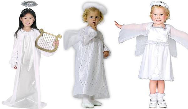 Trajes de ngeles para ni os imagui - Trajes de angelitos para ninos ...