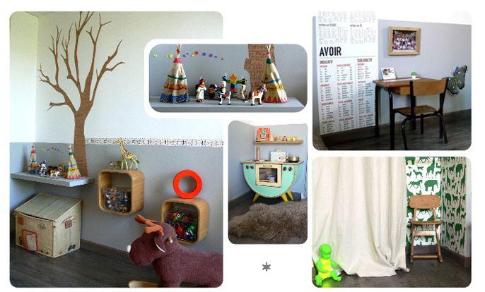 Vintage y muebles restaurados para ni os pictures - Muebles restaurados vintage ...