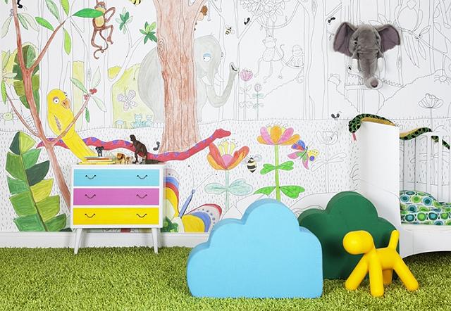 Cuartos pintados para niñas - Imagui