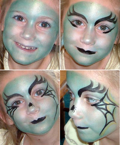 An ca la yoli octubre 2012 for Caras pintadas para halloween