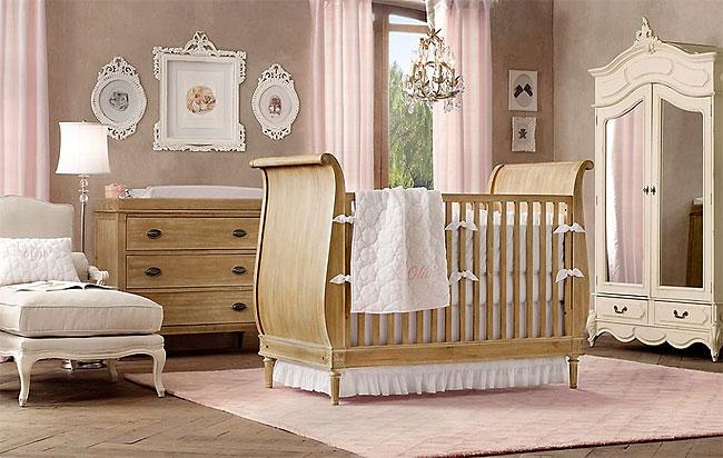 Inspiración para dormitorios de bebés - Habitación Bebé - Para ...
