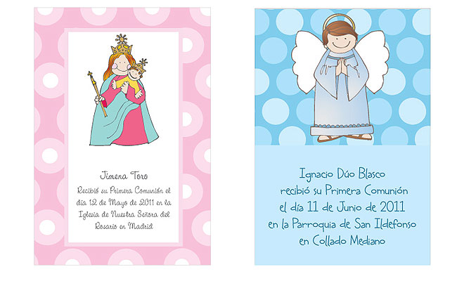 Invitaciónes de primera comunión niña gratis - Imagui