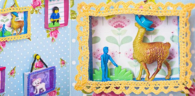 Mini obras de arte para habitaciones infantiles el carrito de las chuches Cuadros para decorar habitaciones infantiles