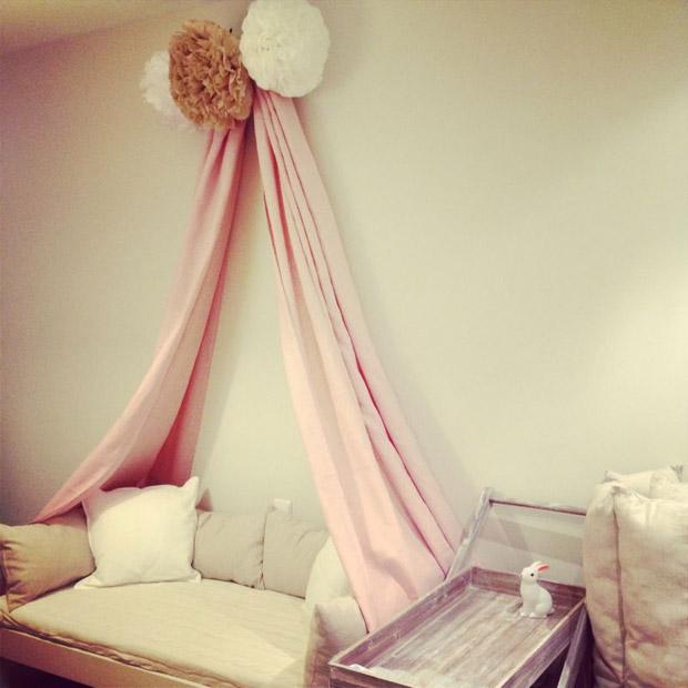 El rosa es un must para el cuarto de una bebita esos - Dibujos para habitacion nina ...