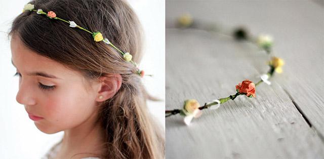 Diadem s de flores para ni as imagui - Diademas de flores para nina ...