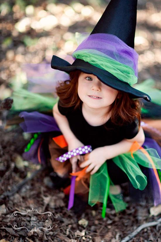 Disfraz bruja Halloween: Disfraces caseros para niños - Especial ...