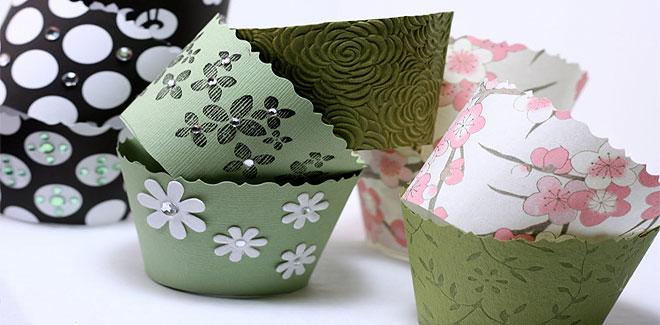 Hacer Envoltorios Para Cupcakes Caseros Manualidad