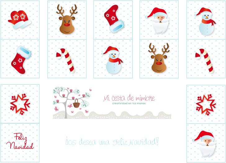 Domino infantil para imprimir imagui - Motivos navidenos dibujos ...