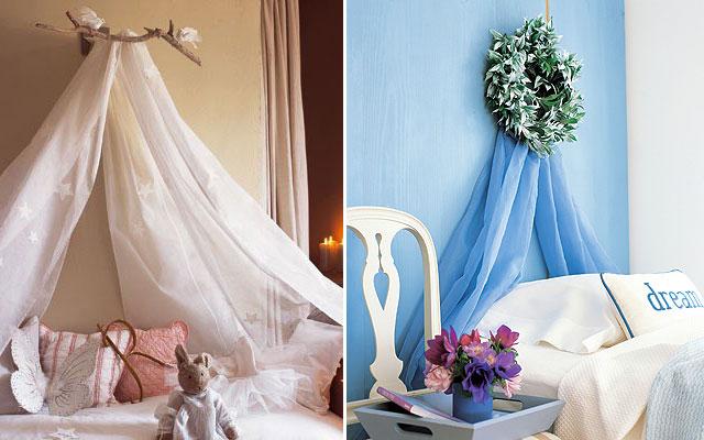 Como decorar un velo para beb imagui - Como poner una mosquitera ...