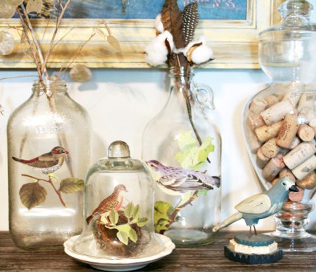 Como decorar botellas para bodas y comuniones dise 241 for Ideas para decorar botellas