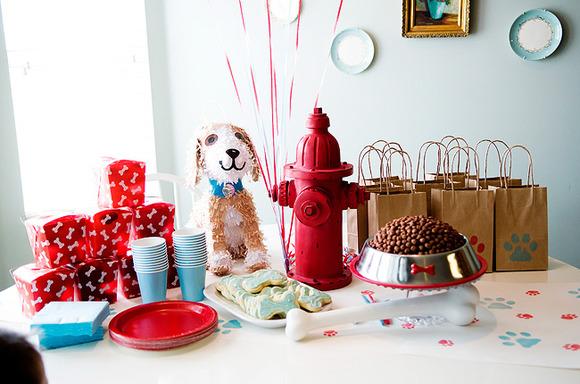 Puppy Dog Baby Shower Decorations