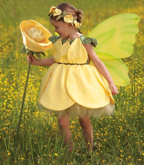 Buttercup Flower Costume