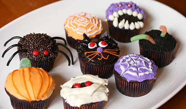 Recetas de Halloween: Cupcakes originales