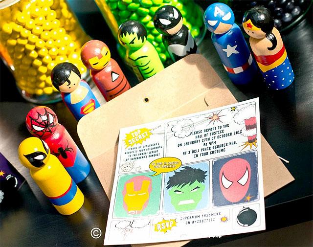 Fiesta de cumpleaños de Los Vengadores - Inspiración e ideas para ...