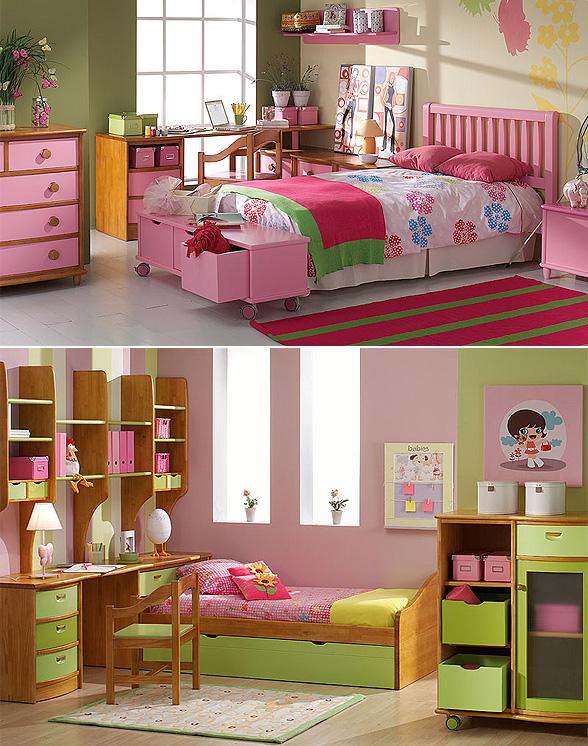 Muebles de abitacion para ni as casa dise o - Muebles para cuarto de nina ...