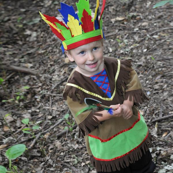 Fancy Dress Indian Chief