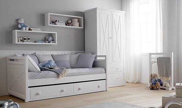 Dormitorios infantiles para dos decorar tu casa es - Dormitorios infantiles de dos camas ...