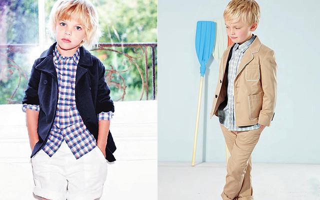 Moda clásica y atemporal para niños de Marie Chantal - Moda ...