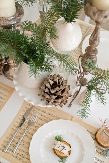 Mesas de navidad adornos navide os para decorar tu mesa de navidad especial navidad 2015 - Decoratie recup ...