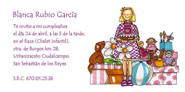 Personaliza tus invitaciones de cumpleaos con MG Mayora El